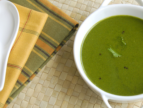 Мятный суп