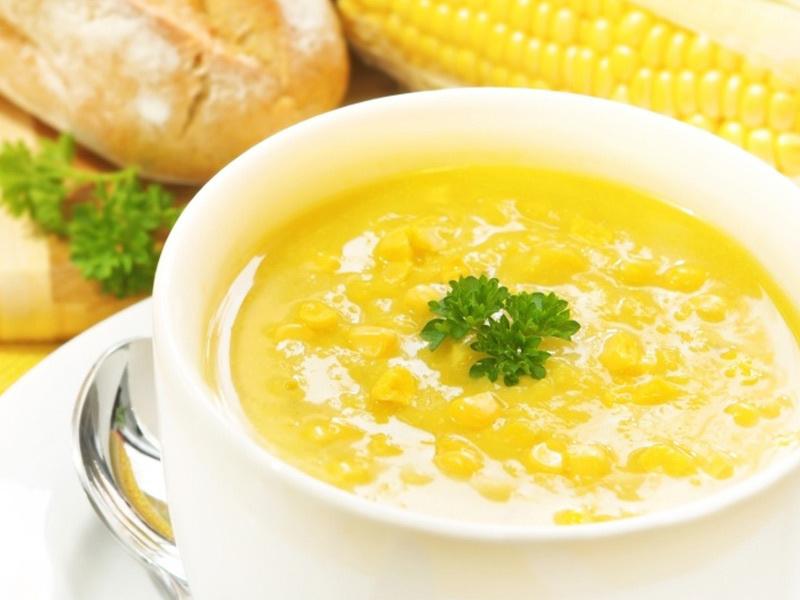 Молочно-кукурузный суп