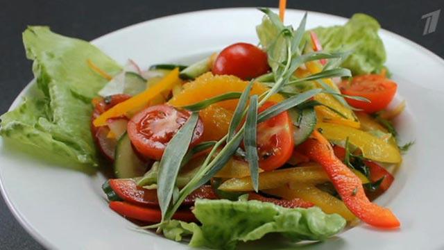 Салат «Оранжевая весна»