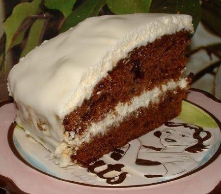Негр с пене торт