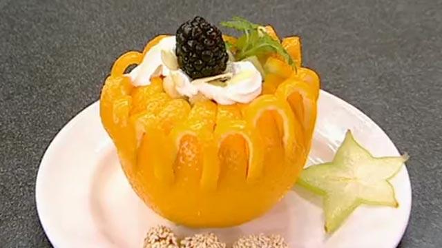 Десерт «Оранжевая радость»