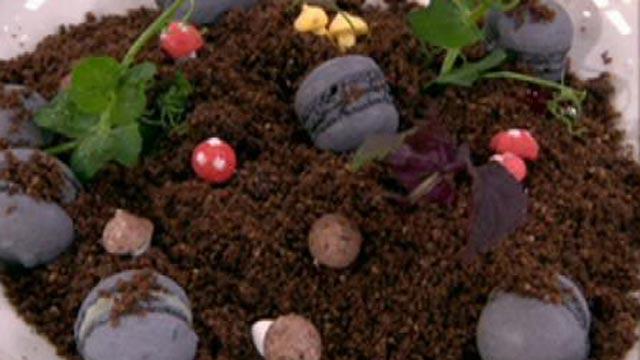 Десерт «Шоколадная земля»
