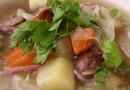 Французский капустный суп