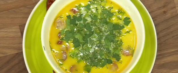 Суп сырный «Дружба»