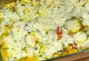 Сырно-кабачковая запеканка