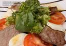 Тёплый салат «Милка»