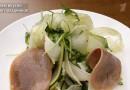 Салат с телячьим языком