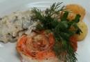 «Рыбный перепляс» из лосося и судака